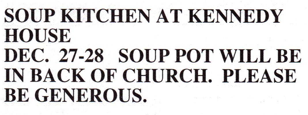 Kennedy Soup Kitchen Reading Pa