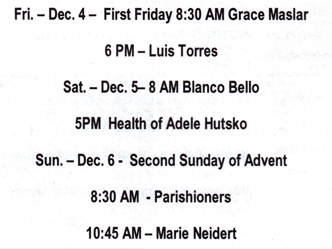 mass for week_1